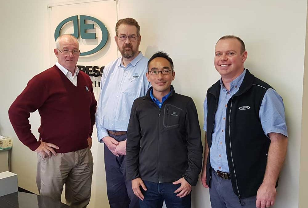 JEFFRESS Engineering hosts a visitor from Japan