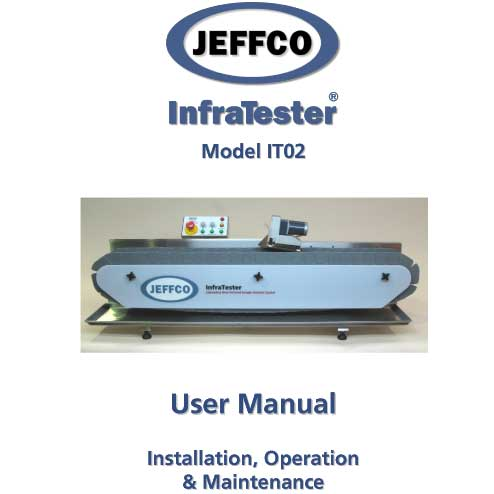 jeffco infratester it02 manual