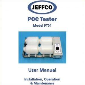 manual jeffco poc tester pt01