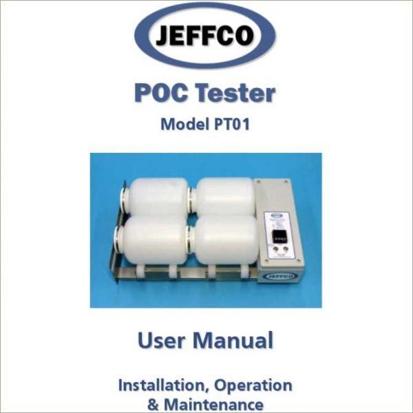 jeffco poc tester pt01 manual