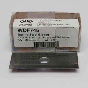Wd Spring Steel Blades Wdf745