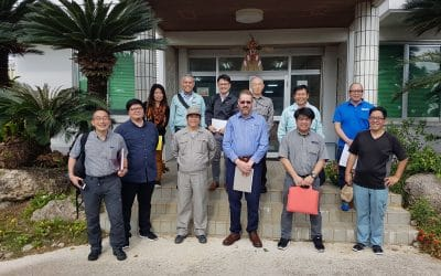Okinawa Sugar Industry host Jeffress Engineering visit