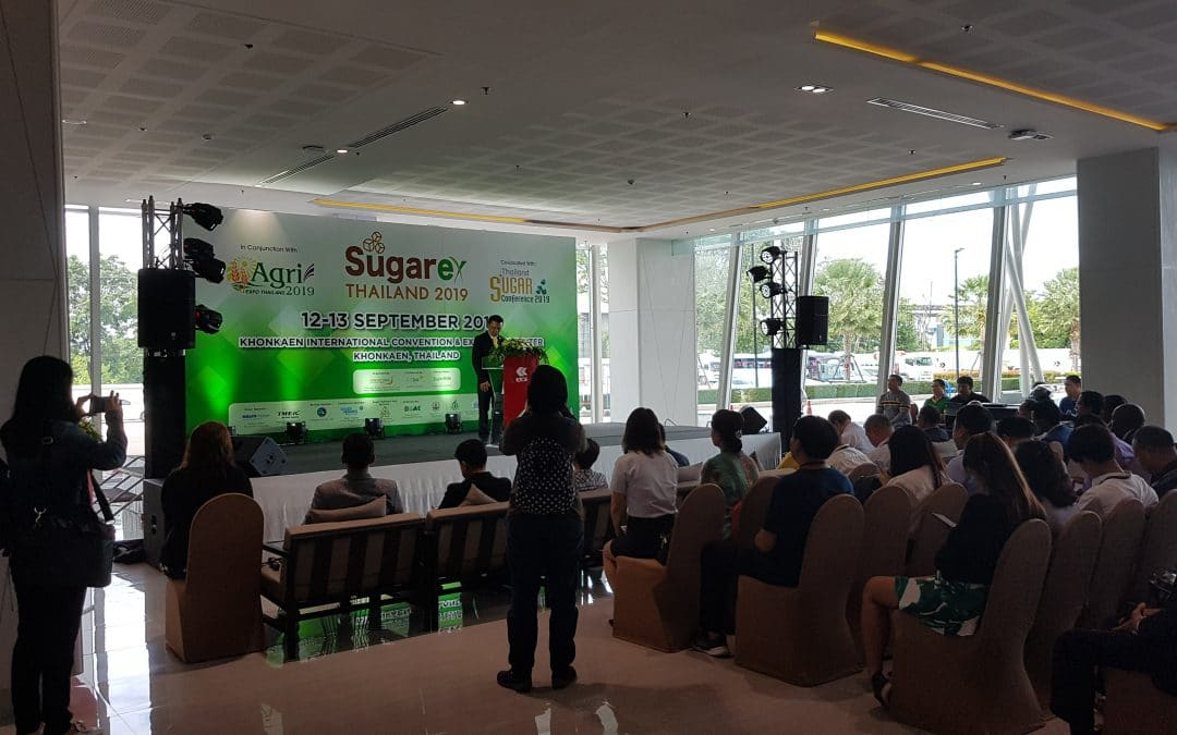 Jeffress present at SugarEx in Thailand 2019